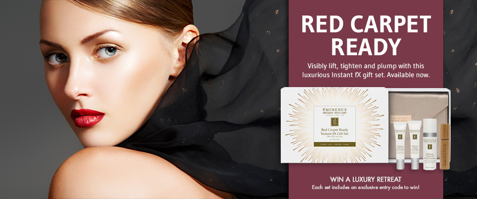 Eminence Organics Red Carpet Ready Instant fX Gift Set