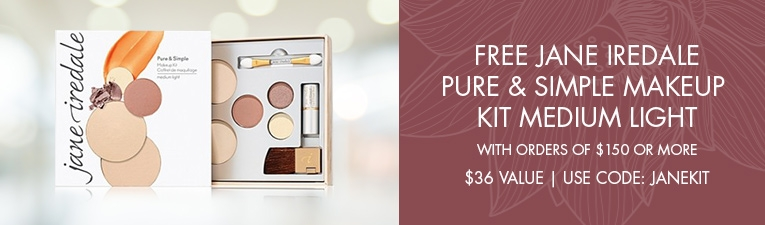 free Jane Iredale Pure and Simple MakeUp Kit