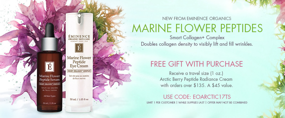 Eminence Organics Marine Flower Peptide Collection