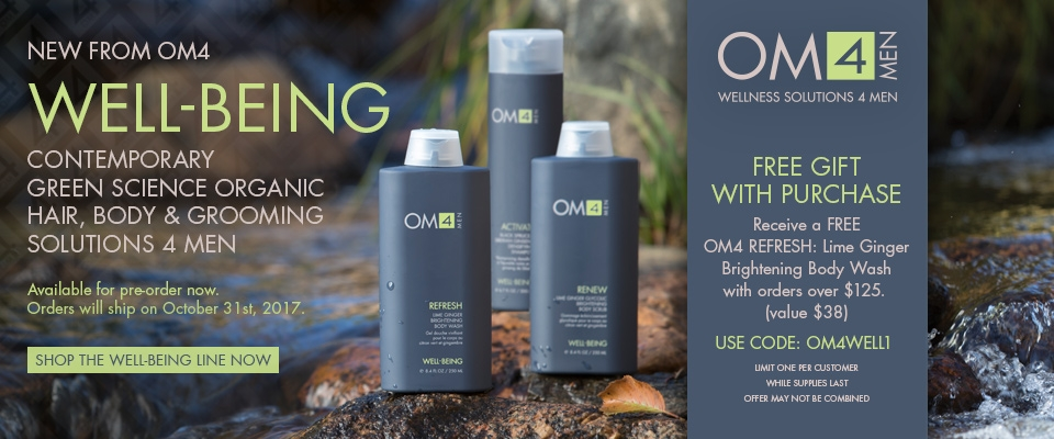 Organic Male OM4 Well-Being Collection