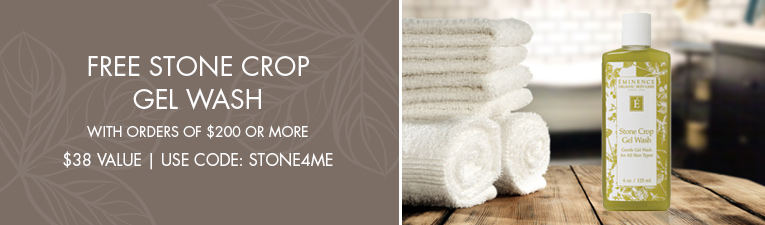 free stone crop gel wash